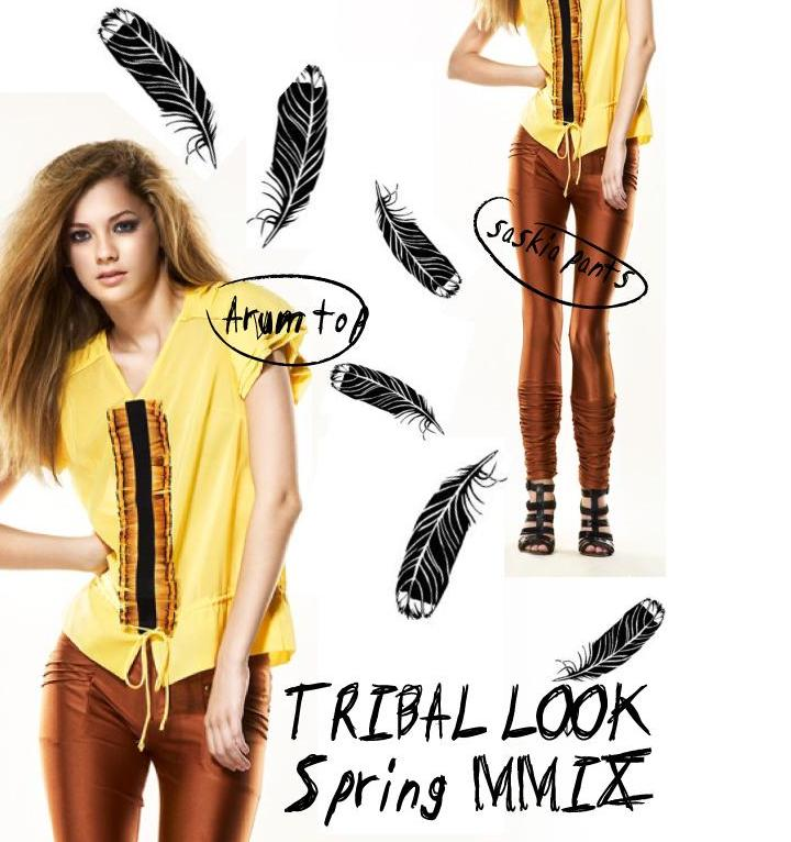 RADENRORO Tribal Look from SPring '09 Collection