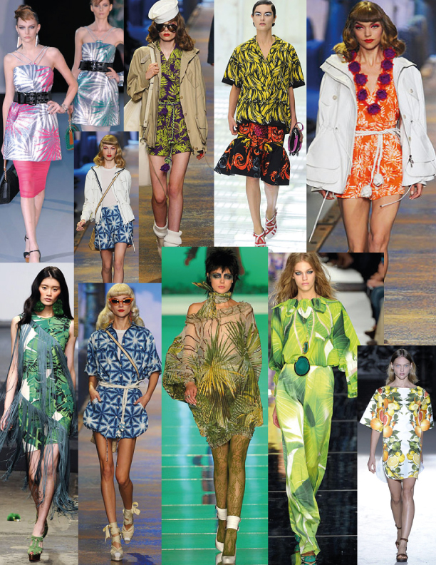 Spring/ Summer 2011 Tropical Print Trends