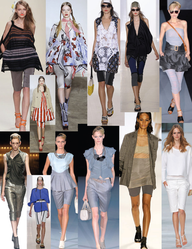 Cropped Pants Trends SS11