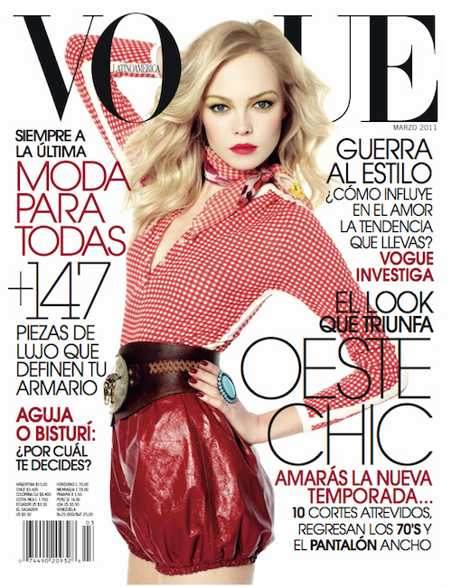 Siri Tollerød by David Roemer for VOGUE Latin America