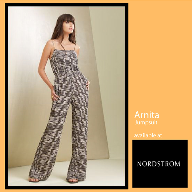 Arnita Silk Jumpsuit available at Nordstrom and Nordstrom.com
