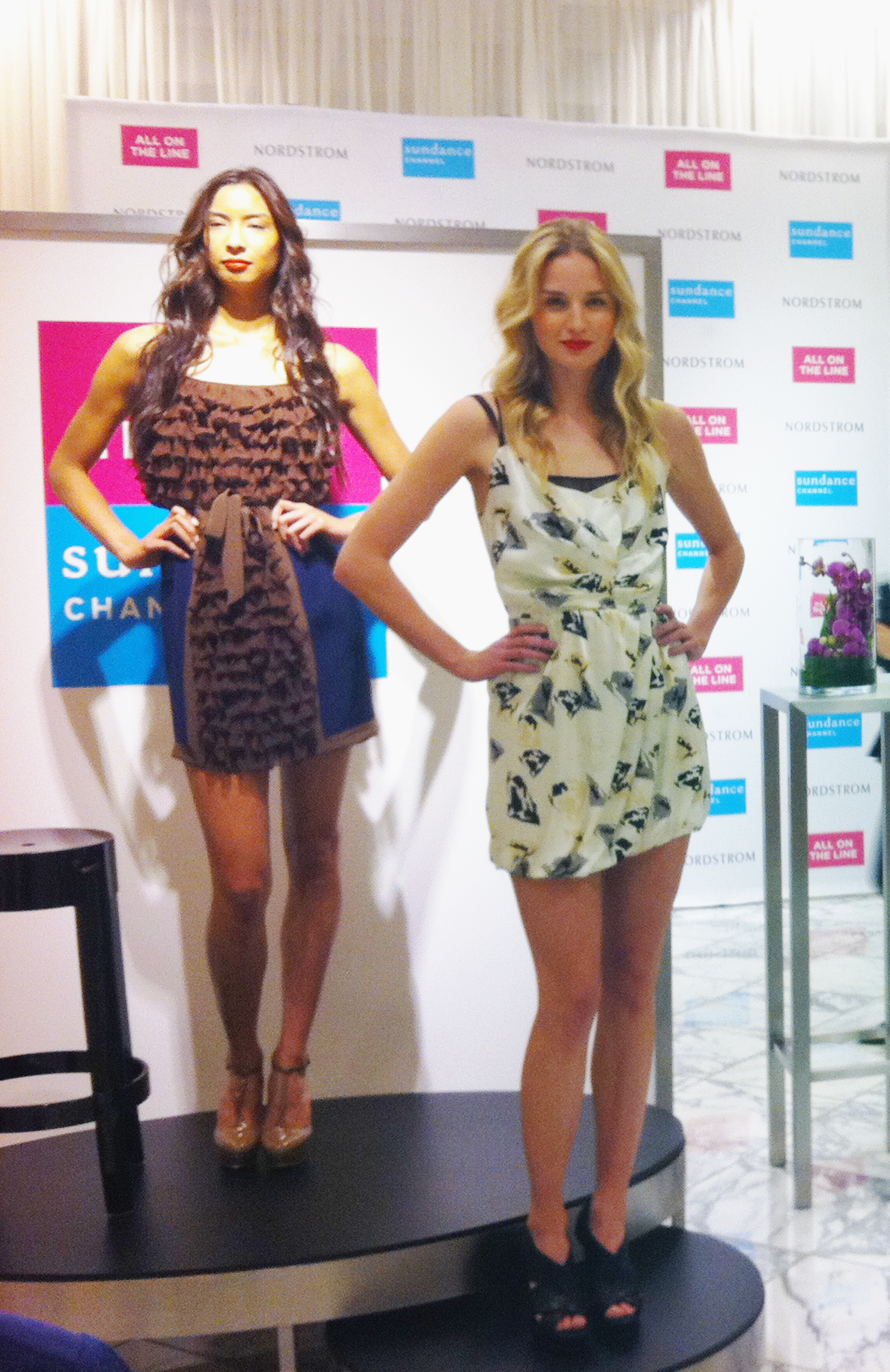 The Marlin dress at RADENRORO Launch Party at Grove Nordstrom