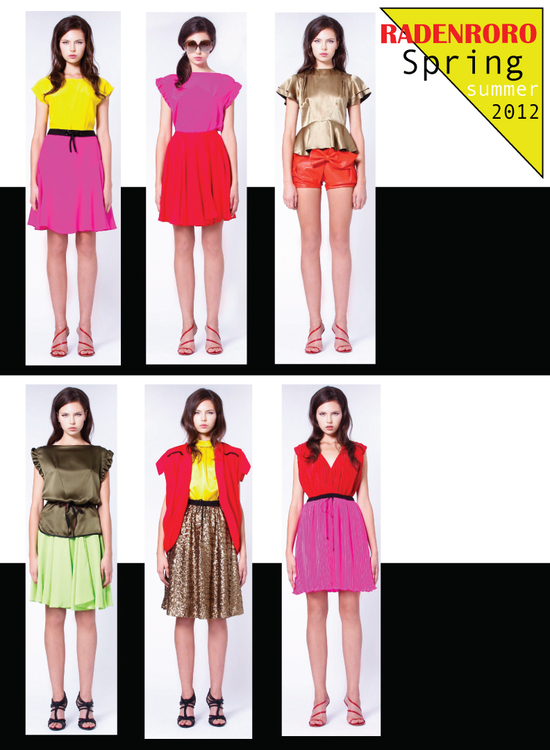 Color block party dress - And