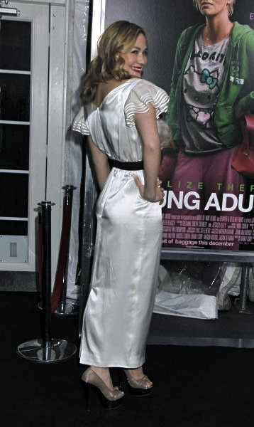 Louisa Krause in RADENRORO at The Premiere of Young Adult in New York