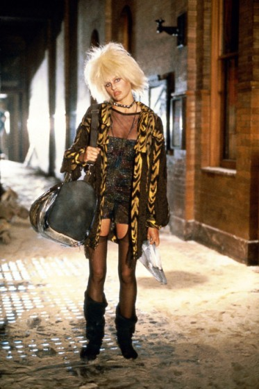 Daryl Hannah's coat on Blade Runner