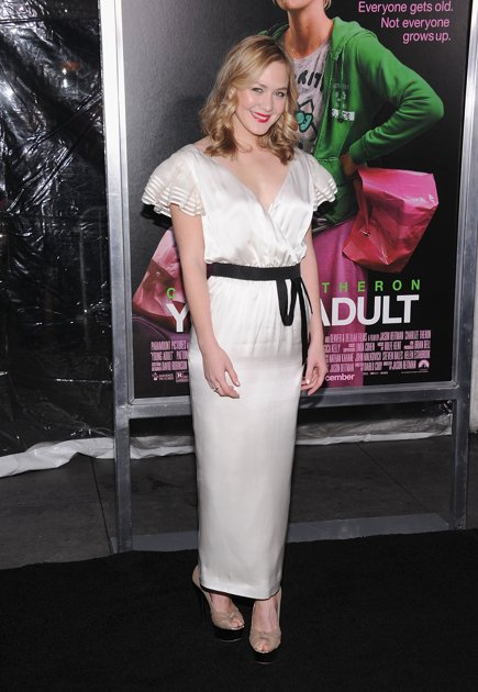 "Louisa Krause in RADENRORO at The Premiere of ""Young Adult"" in New York"