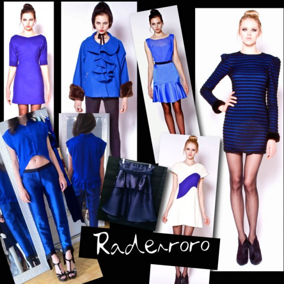 RADENRORO Fall - Winter 2012 Cobalt Blue