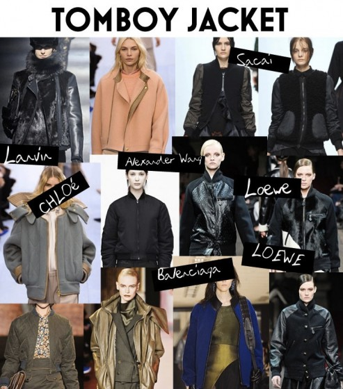 Fall - Winter 2012 Trend - Tomboy Jacket Varsity