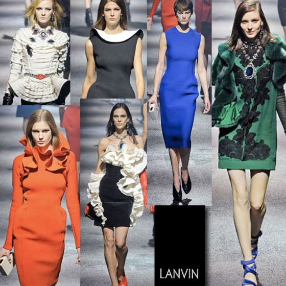 LANVIN FALL WINTER 2012