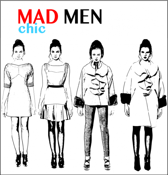Mad Men Styles Outfit Wardrobe Women Clothing