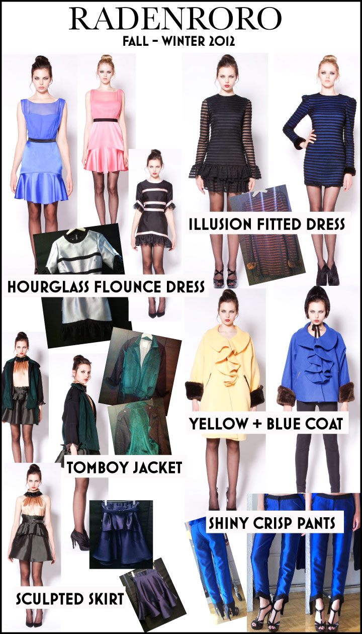 RADENRORO Fall - Winter 2012 TREND