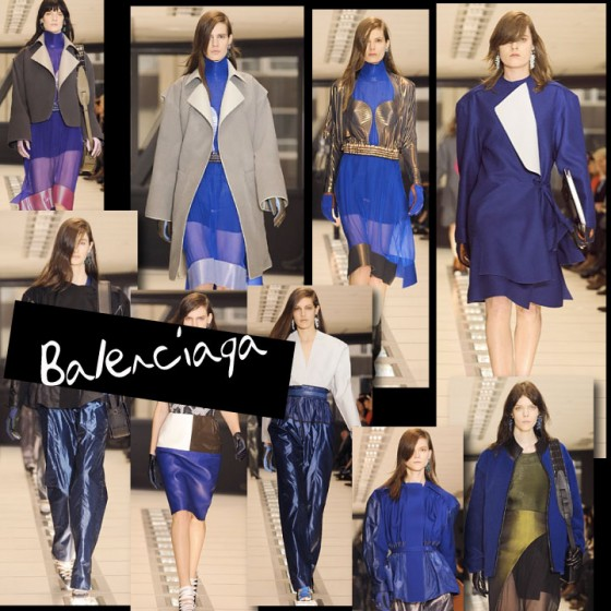 BALENCIAGA - FALL - WINTER 2012