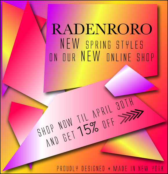 RADENRORO Spring Summer 2012 SHOP