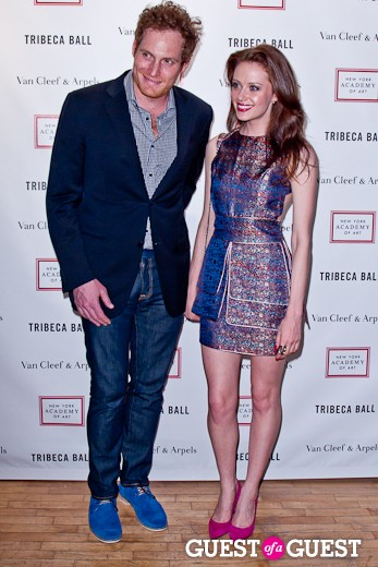 Autumn Stein at Tribeca Ball 2012 at New York Academy of Art on April 16, 2012 in New York City