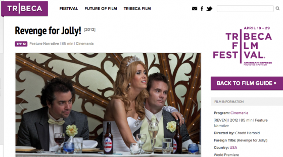 Kristen Wigg 'Revenge for jolly' Tribeca Film Festival