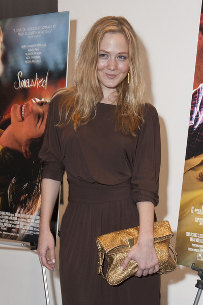 Louisa Krause in Radenroro dress at Smashed the movie with Mary Elizabeth Winstead  