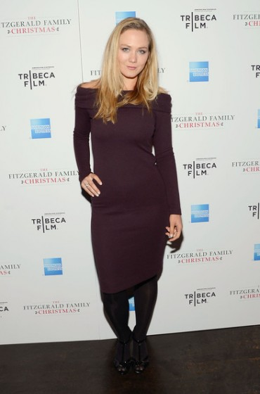 Louisa Krause in Radenroro Fitzgerald Family Christmas screening at Tribeca Grand Hotel